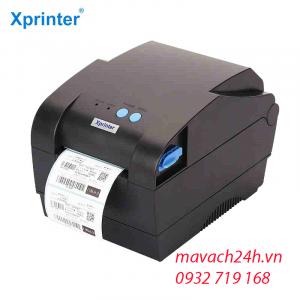 máy in mã vạch mini XP_350B